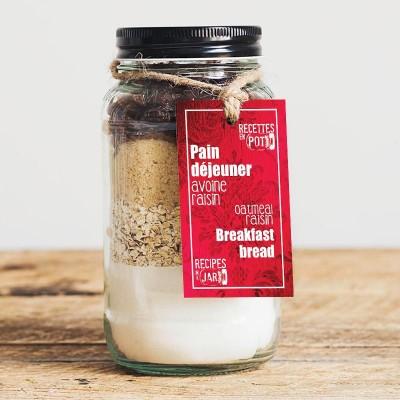 Oatmeal raisin breakfast bread REP